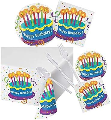 Amazon.com: Cake Surprise - Pack de fiesta de cumpleaños ...