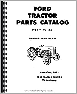 amazon com ford 9n tractor parts manual (6301147665546) booksford 9n tractor parts manual plastic comb