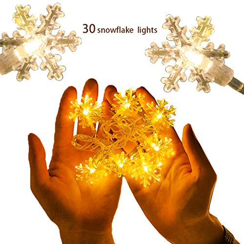 Multi Function Led Christmas Tree Lights Bright White in US - 6