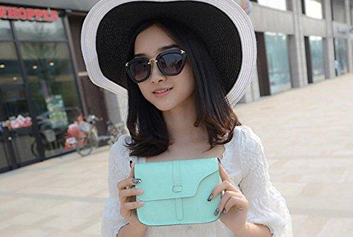 Leather Shoulder JACKY Bag Women Girl Tote Handbag Green Crossbody Satchel Faux CXq4pU