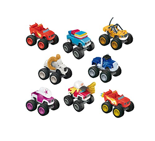 Fisher-Price Nickelodeon Blaze & The Monster Machines, Core Scale Diecast Assortment