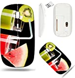 organ juice - Liili Wireless Mouse White Base Travel 2.4G Wireless Mice with USB Receiver, Click with 1000 DPI for notebook, pc, laptop, computer, mac book IMAGE ID: 39321772 Two glasses of organic juice