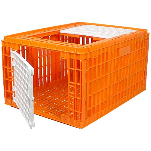 Crate Chicken - RentACoop Carrier Crate - 4 Models Available - (4-5 Turkeys)