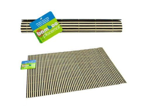 Bamboo Place Mats - Case of 96 by bulk buys