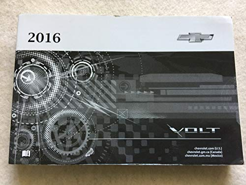 2016 Chevrolet Volt Owners Manual - 367 Pages