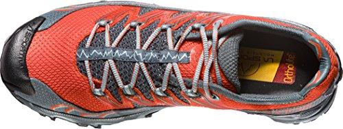 La Sportiva Men's Ultra Raptor Trail Running Shoes, Blue Multi-coloured (Tangerine/Slate 000)