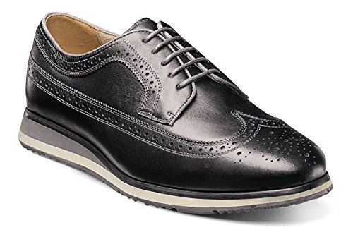 Florsheim Flux Men's Oxford Black Wingtip qq1Crc6