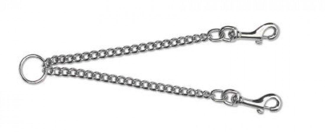Ancol Chain Couple Dog Lead Attachment