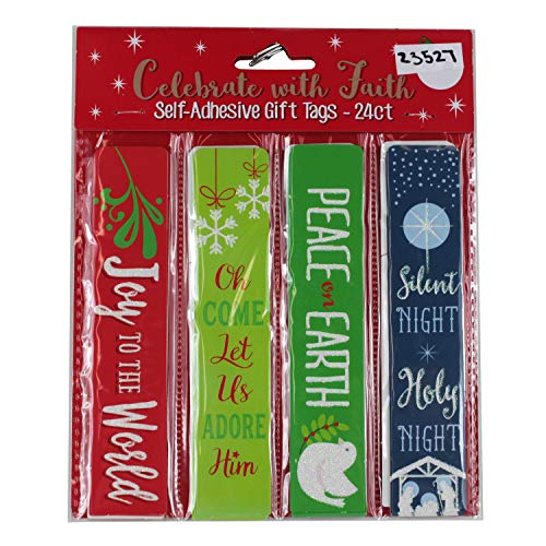 Celebrate with Faith Self Adhesive Gift Tags 24 ct ()