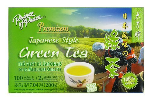 Prince of Peace Japanese Style Green Tea, 100 Teabags by Prince Of Peace