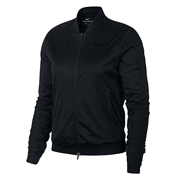 397c26f917317 Nike Women's W Nk Arolyr Fz Track Jacket, Black (Negro 010), Medium: Amazon. co.uk: Clothing