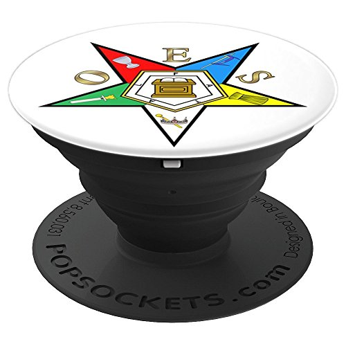 Order of the Eastern Star OES - PopSockets Grip and Stand for Phones and Tablets by 357 Designs