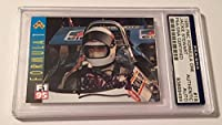 1995 PMC Jackie Stewart Signed Formula 1 Champion Card #18 Slabbed - PSA/DNA Certified - Autographed Boxing Cards by Sports Memorabilia