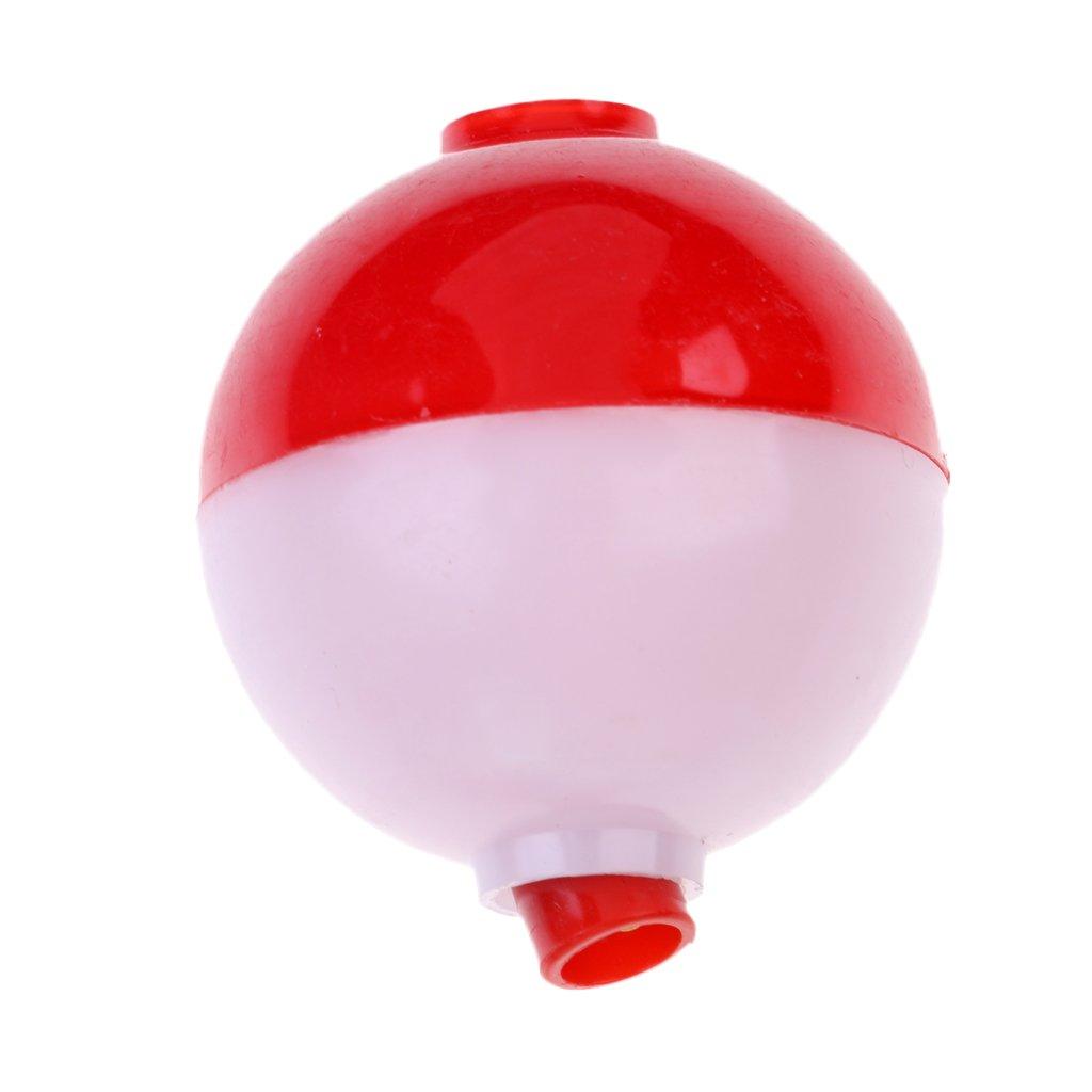 MagiDeal 12x Ballposen Rund Wasserkugel Angeln Verschiedene Gr/ö/ße Forellenpose Bobber