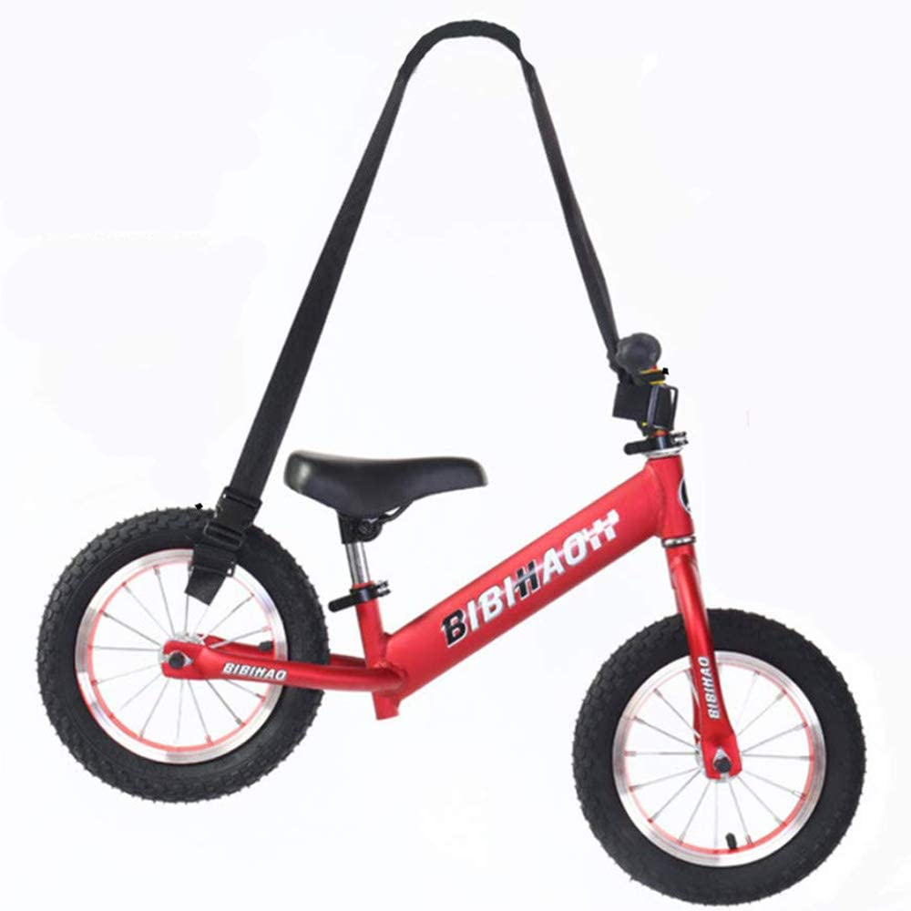 Popluxy - Bicicleta deportiva portátil con correa, sin pedal ...