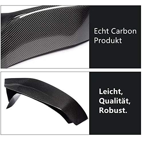 Leewadee Spoiler /à l/èvre en carbone v/éritable pour M3 F80 M4 F82 F83