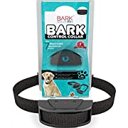 Amazon Lightning Deal 100% claimed: Bark Solution ® improved Anti Bark Dog Collar Training System, Electric No Bark Shock Control with 7 Adjustable Sensitivity Control & Manual
