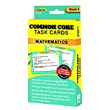 EDUPRESS COMMON CORE MATH TASK CARDS GR 5 (Set of 12)
