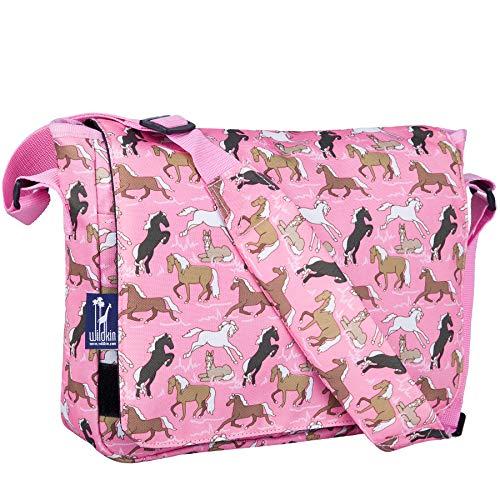 (Wildkin 13 x 10 Inch Messenger Bag, Horses in)