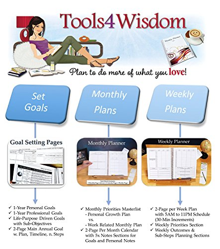 planners by tools4wisdom 2015 goals planner     calendar