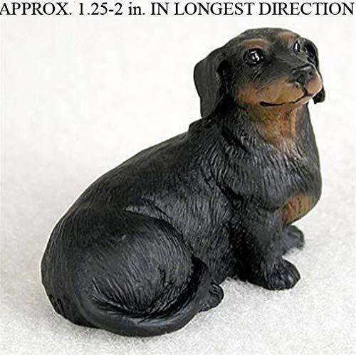 Ky & Co YesKela Dachshund Mini Hand Painted Figurine Black