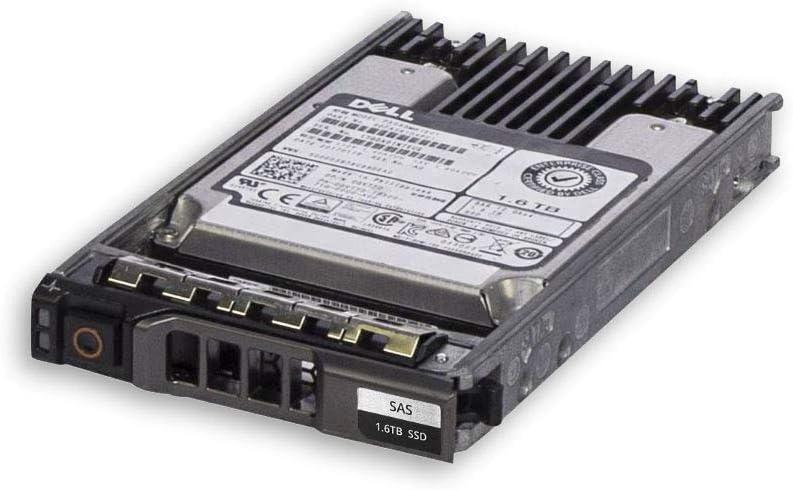 Dell 1.6TB 12GB/s SAS Write Intensive SSD Bundle with Drive Tray - GVTYD (Renewed)