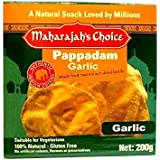 Maharajah's Choice Garlic Pappadam, x