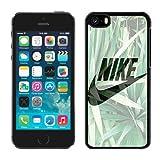 Just Do it Nike logo image Custom iphone 5C TPU Individualized Hard Case black rob style Timini27h