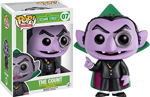 Funko POP TV: Sesame Street - The Count Toy Figure from Funko