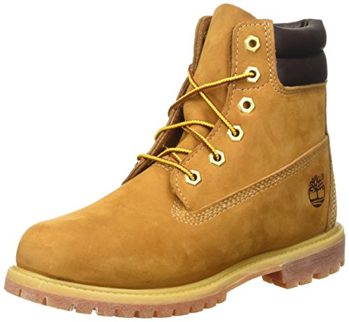 Timberland Womens Waterville 6 Inch Double Collar Boot,Wheat Nubuck/Leather,US by Timberland
