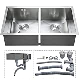 Double Kitchen Sink Voilamart 30