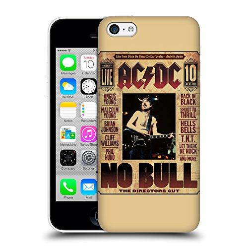 Officiel AC/DC ACDC Aucun Taureau Art D'album Étui Coque D'Arrière Rigide Pour Apple iPhone 5c