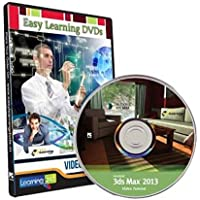 Easy Learning Autodesk 3D Studio Max 2013 Video Tutorials Learning (DVD)