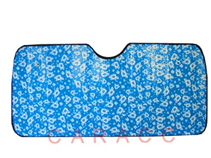 Image Unavailable. Image not available for. Color  Automotive Windshield  Sun Shade - Blue Hawaiian Hibiscus Flower cda3a506ec4