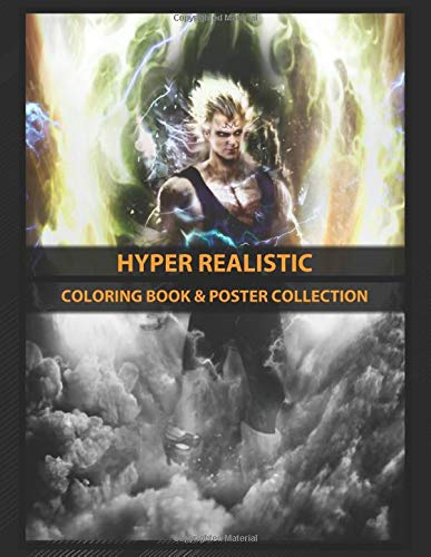 Coloring Book & Poster Collection: Hyper Realistic Dbz Insipired ...