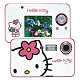 Hello Kitty KT7009A White Ultra Thin 3.2 Mega Pixel Digital Camera with Hello Kitty Face
