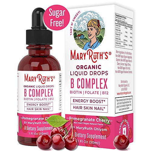 Organic Vitamin Complex MaryRuth Sublingual product image