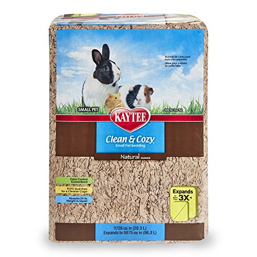 Kaytee Clean & Cozy Natural Pet Bedding, 1728 Cubic Inch