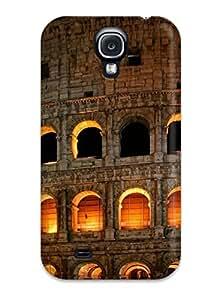 Galaxy S4 Roman Colosseum Print High Quality Tpu Gel Frame Case Cover wangjiang maoyi