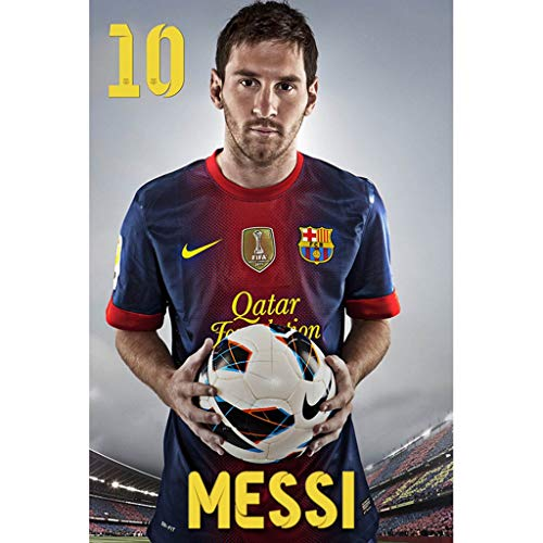 WZJ-Puzzle Football Star Messi, 300/500/1000/1500 Pieces of Wooden Puzzle (Color : E, Size : 1000pcs) (Messi Puzzle)