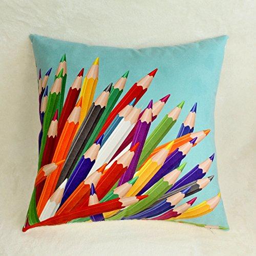 derekoie Custom lápiz funda de almohada coche decoración ...