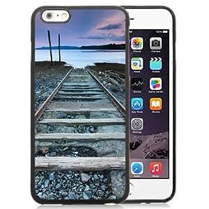 NEW Unique Custom Designed iPhone 6 Plus 5.5 Inch Phone Case With Old Railroad_Black Phone Case