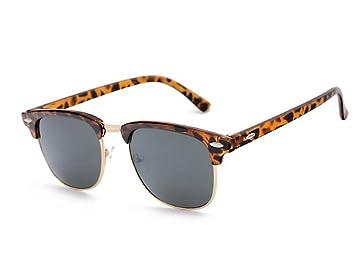 Unisex Gafas de Sol polarizadas, Tukistore sin Montura Gafas de Sol polarizadas Retro Gafas para