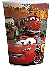 6 PC - Party Paper Cups -The Pack - Cars toon Print cup Set