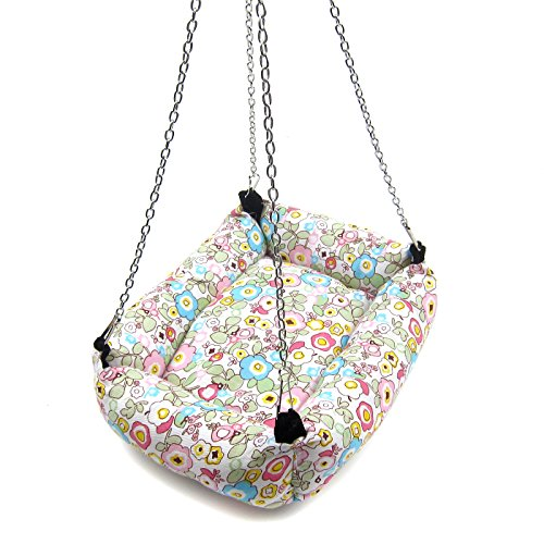 Alfie Pet by Petoga Couture - Ariel Hanging Bed for Small Animals like Dwarf Hamster and Mouse - Design: Flower, Size: Large by Alfie (Image #2)