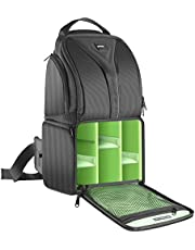 Neewer Camera Sling Backpack Case 9.8x7.9x16.9 Inch/24.9x20x42.9 Centimeter Waterproof Lightweight and Durable for DSLR and Mirrorless Camera (Canon Nikon Sony Pentax Olympus Fujifilm Panasonic) Green