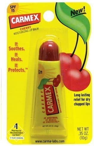 Carmex Cherry Flavour 0.35oz Tubo by Carmex (English Manual): Amazon.es: Belleza