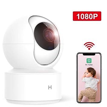 Amazon.com: xiaomi - Cámara IP inalámbrica de seguridad para ...