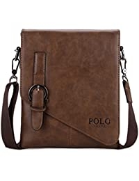 Amazon.com: Brown - Messenger Bags / Luggage & Travel Gear ...