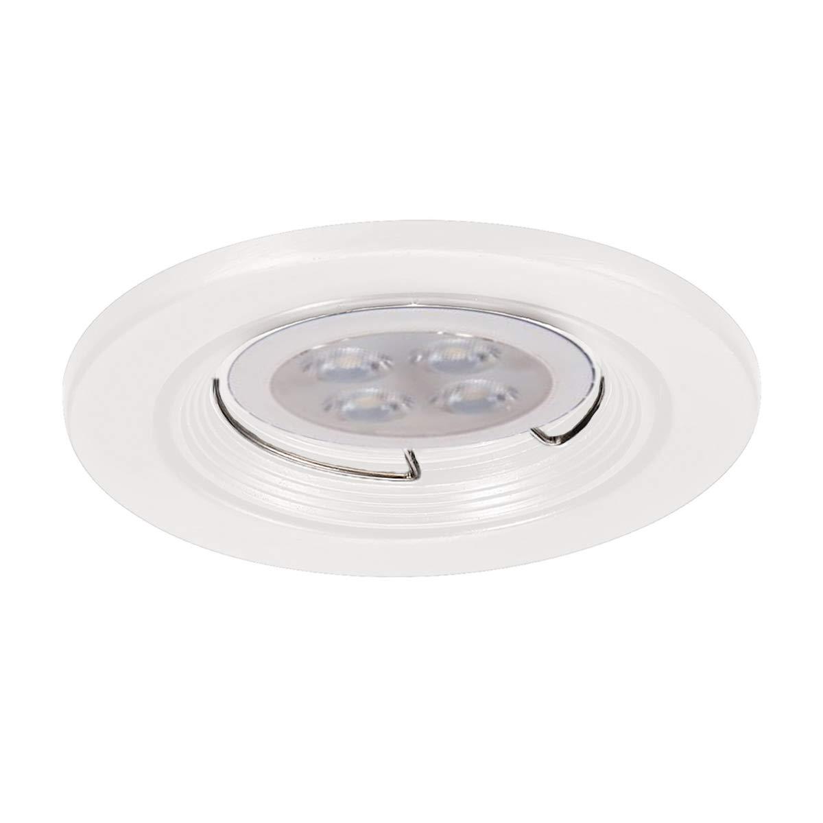 WAC Lighting HR-836LED-WT 2.5インチ ラウンドダウンライト トリム LED埋め込みライト 2.5インチ 低電圧   B07N1MTX5G
